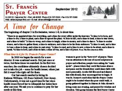 2012 Fall News