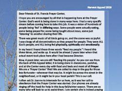 2016 Harvest Appeal